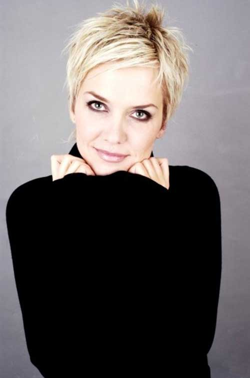 Edgy Short Hair Pixie Styles
