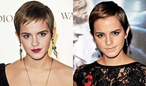 Emma Watson Classy Pixie Cuts