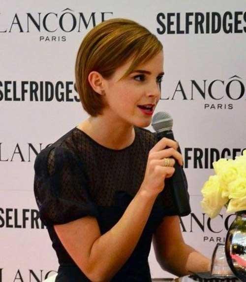 Emma Watson Cool Pixie Cuts