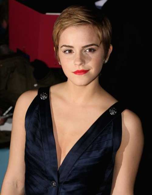 Emma Watson Pixie Hair Cuts