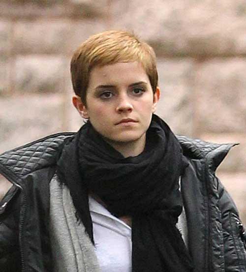 Emma Watson Street Style Pixie Haircuts