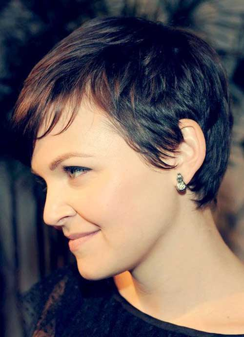 Ginnifer Goodwin Fine Pixie Cut