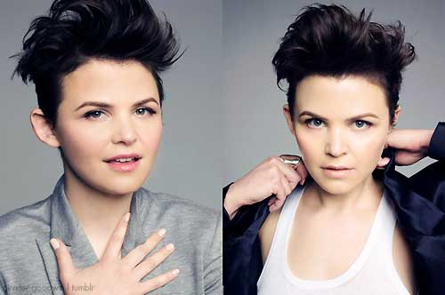 Ginnifer Goodwin Messy Style Pixie Cuts