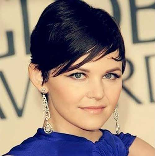Ginnifer Goodwin Straight Pixie Cuts