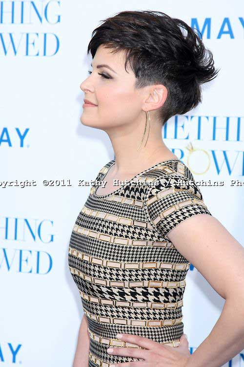 Ginnifer Goodwin Stylish Pixie Cut