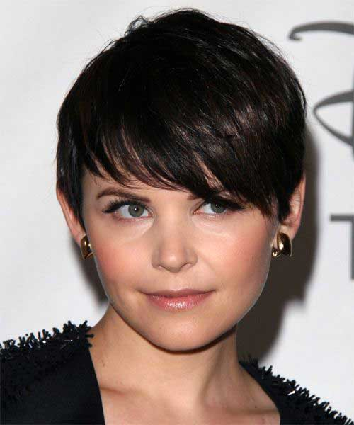 Layered Brunette Pixie Cuts