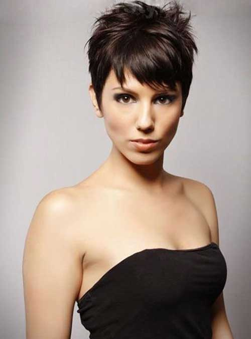 Layered Short Pixie Hair Cuts