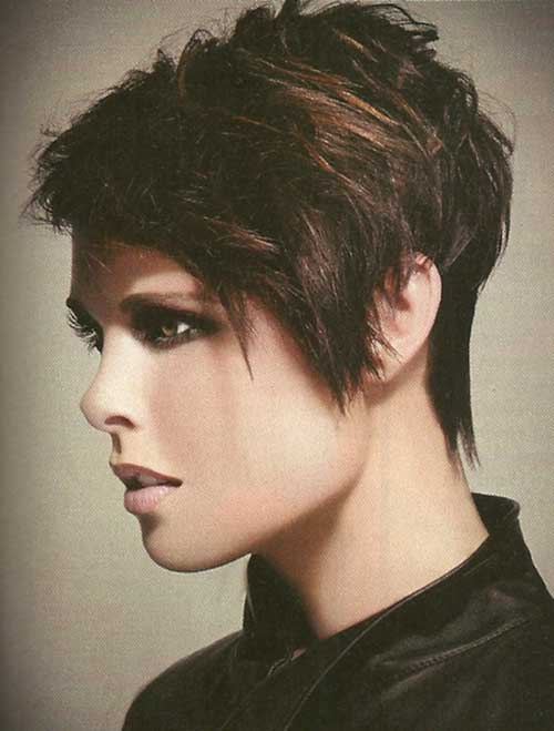 Messy Punk Pixie Cuts