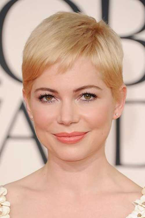 Michelle Williams Pixie Cuts
