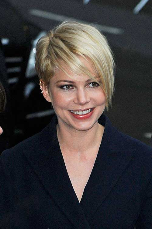 Michelle Williams Pixie Hair Pictures
