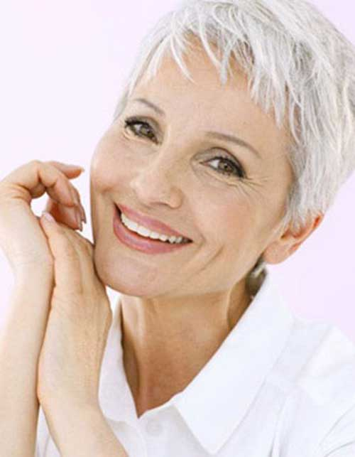 Older Women Pixie Haircut