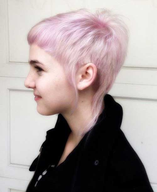 Pink Hair Pixie Cut Ideas