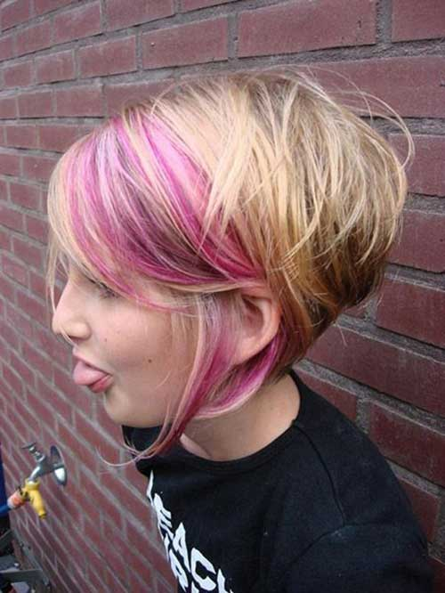 Best Pink Short Pixie Haircuts