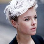 Pixie Cropped Blonde Hair