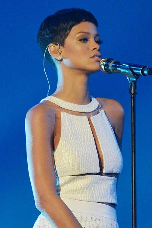 Pixie Cut Rihanna Pics