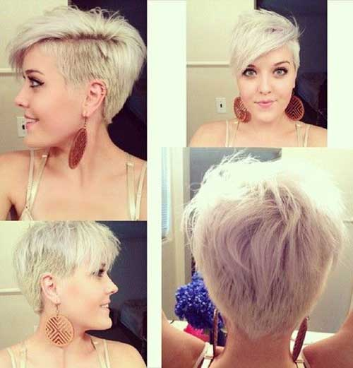 Best Pixie Cut with Shaved Side