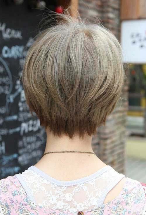 Pixie Cuts for Fine Hair Back View Look