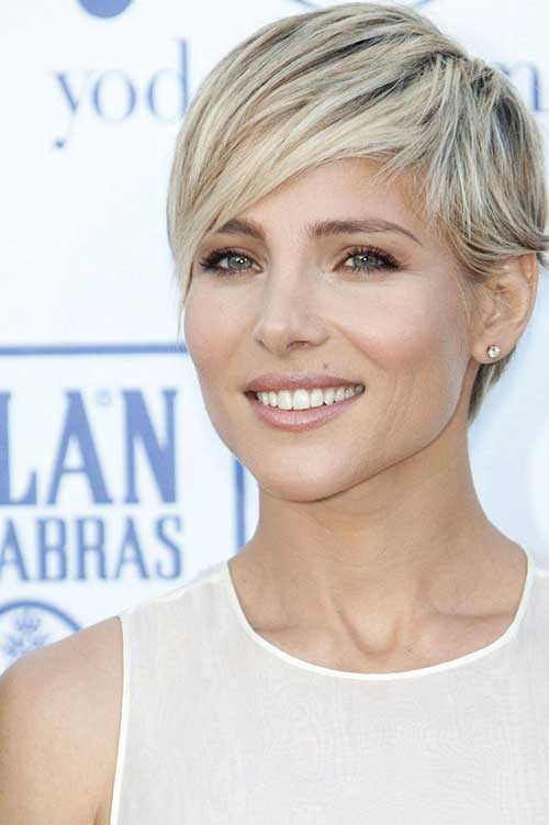 Best Pixie Haircut Long Bangs