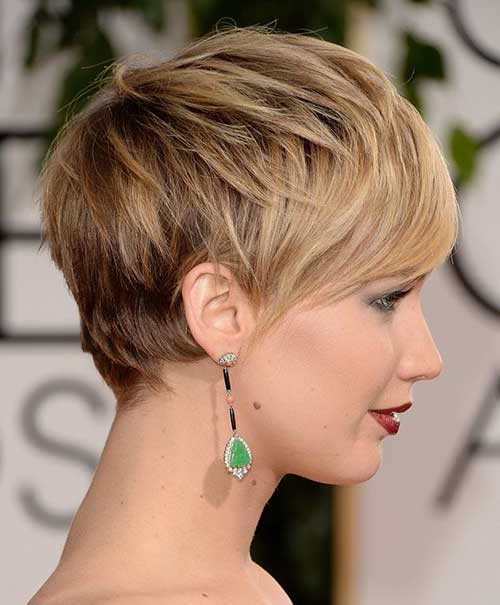 Pixie Haircut Side View Look