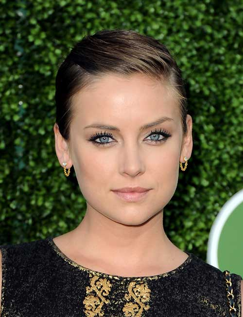 Slicked Prom Hairstyles for Pixie Cuts