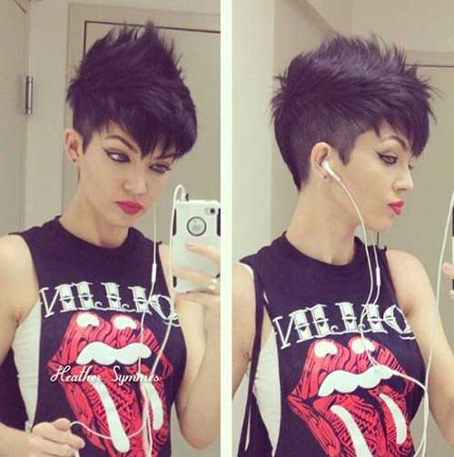 Best Punk Pixie Hair