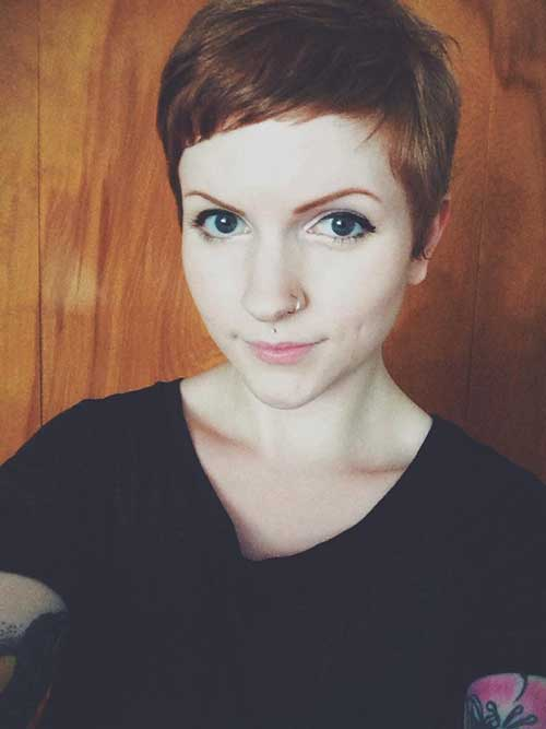 Cute Sassy Pixie Cut