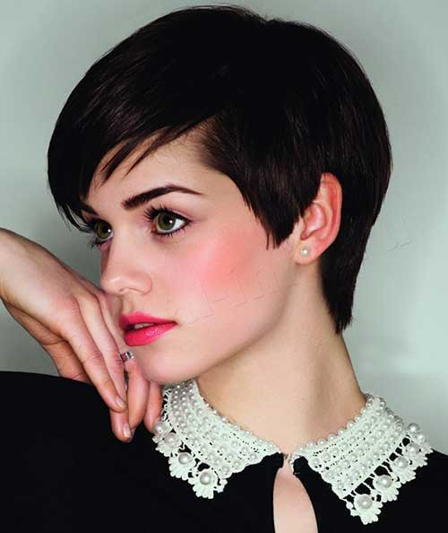 Best Short Brunette Pixie Cut