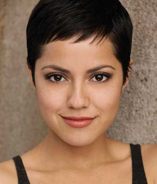 Short Thin Layered Pixie Hairstyles