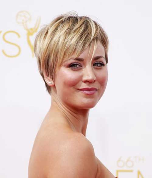 Straight Hairstyle Pixie Cut