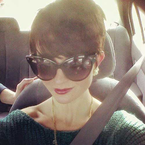 Thick Pixie Cut for Girls