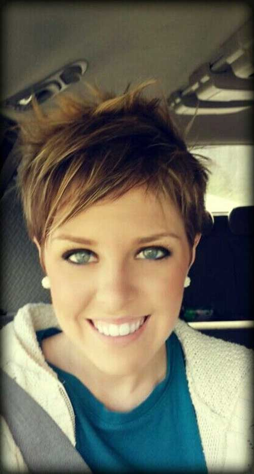 Thin Hair Pixie Cuts 2014