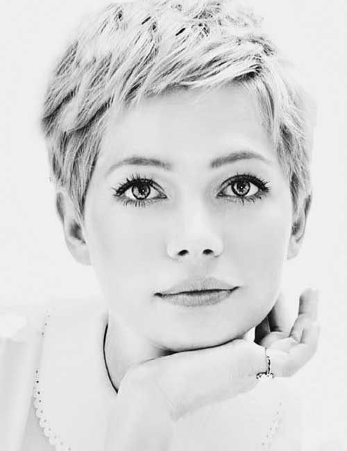 Very Short Hair Pixie Michelle Williams