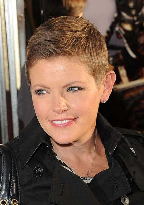 Best Very Short Pixie Hairstyles Round Faces