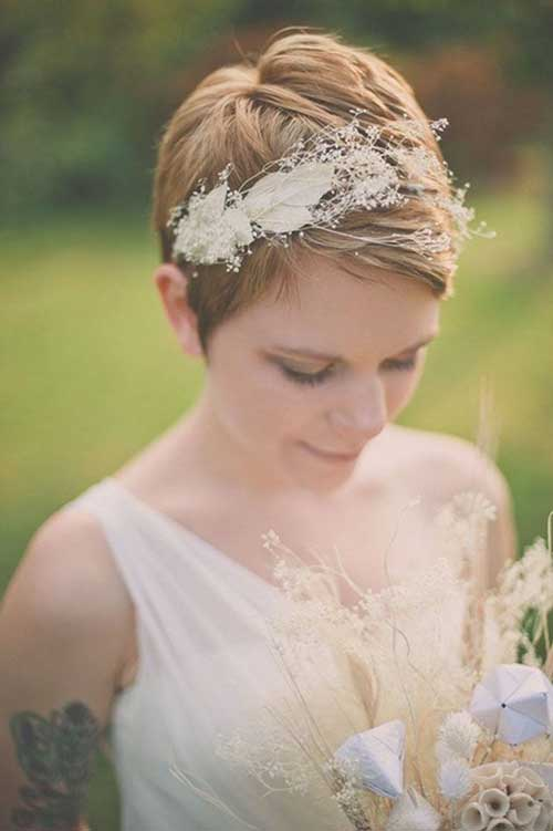 Wedding Short Pixie Haircut Pictures