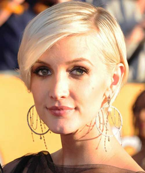 Ashlee Simpson Pixie Hair Cuts