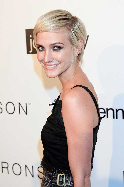 Best Ashlee Simpson Short Hair