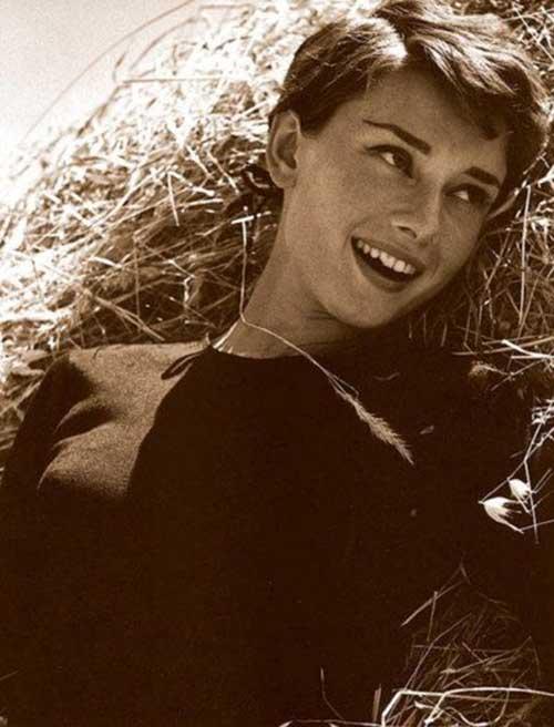 Audrey Hepburn Pixie Haircuts
