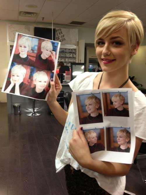 Best Longer Length Pixie Haircuts 2016