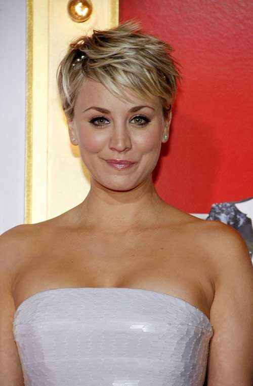 Nice Blonde Pixie Cut Hair Colors