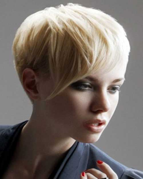 Best Classy Pixie Haircut Round Face