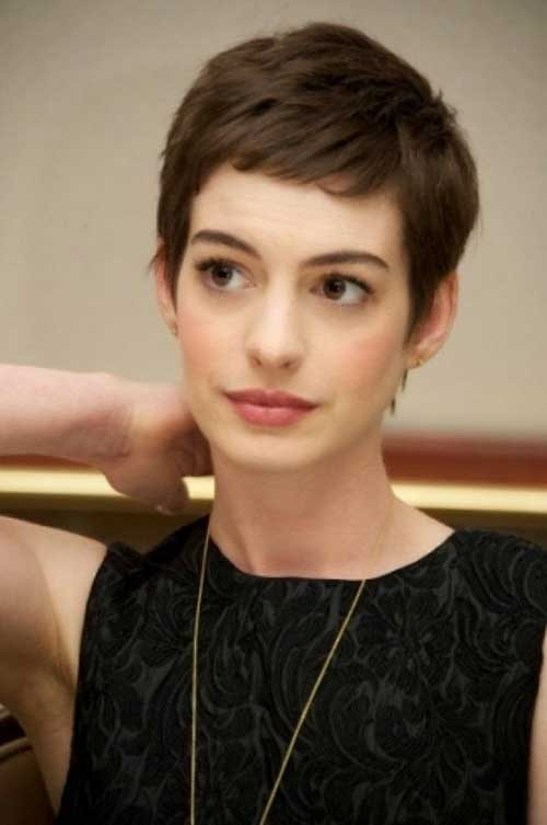 Best Dark Brown Hair Pixie Cut