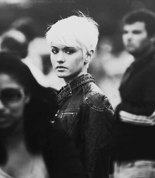 Nice Edgy Pixie Hairstyles