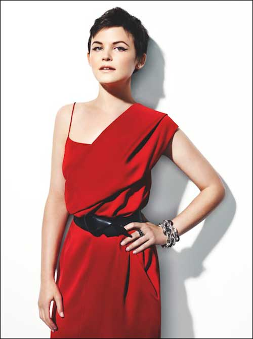 Ginnifer Goodwin Cropped Pixie Hair