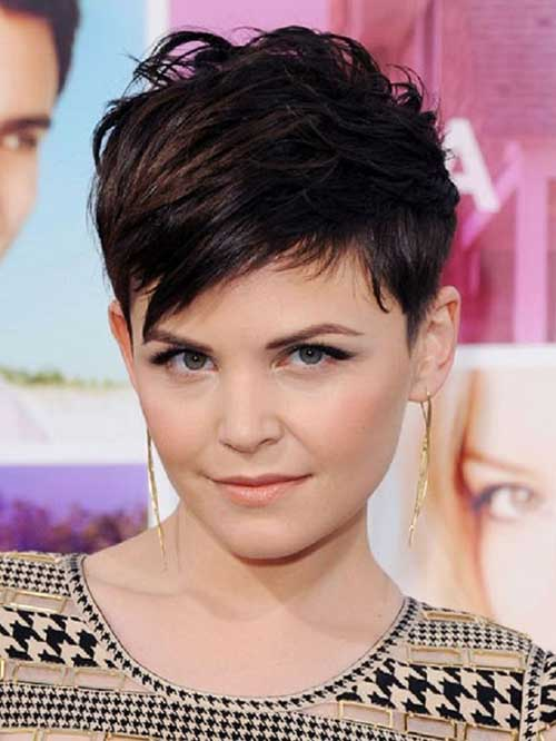 Ginnifer Goodwin Messy Pixie Cuts