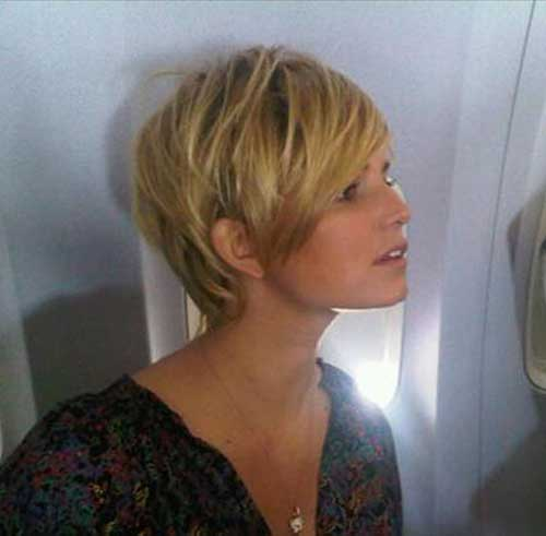 Jessica Simpson Pixie Haircuts