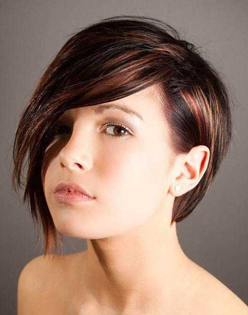 Best Long Pixie Cut Brown Hair