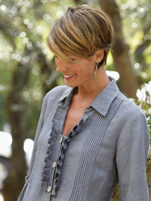 Older Ladies Hair Short Pixie Haircuts