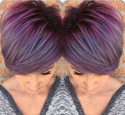 Best Pastel Purple Pixie Cut Colors