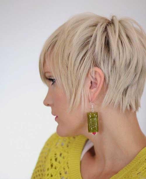 Chic Pictures of Pixie Hair Cuts