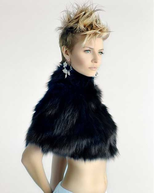 Pictures of Spiky Pixie Haircuts